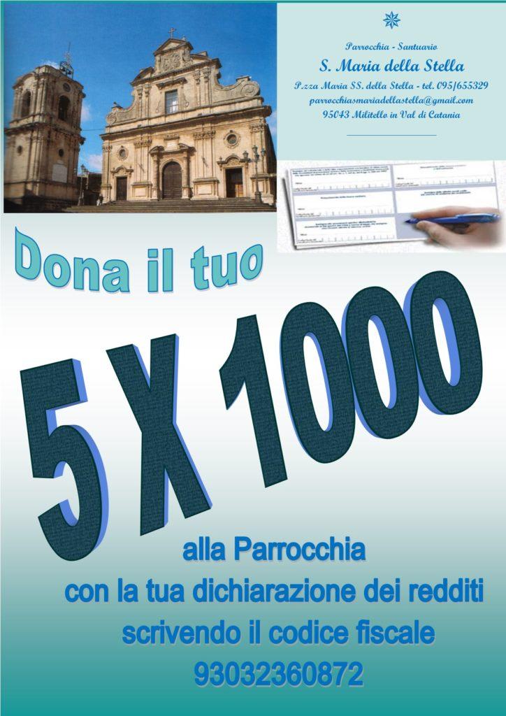 Locandina 5x1000