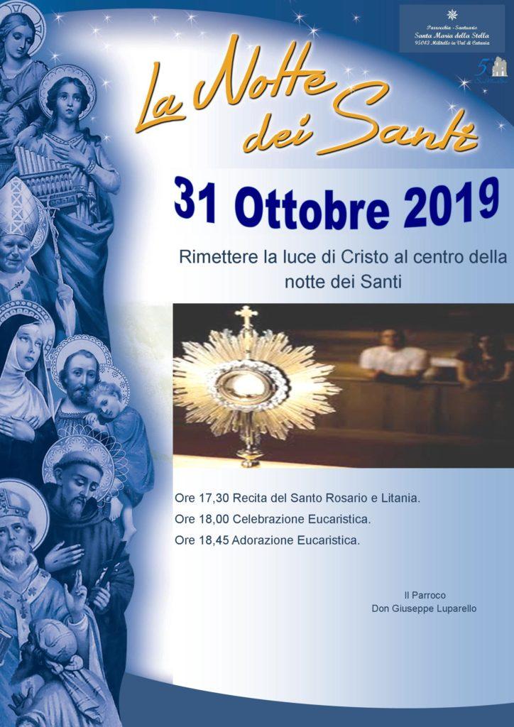 Locandina la notte dei santi