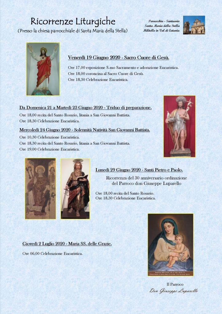 Locandina feste S Giovanni-S Pietro-Madonna delle Grazie 2020