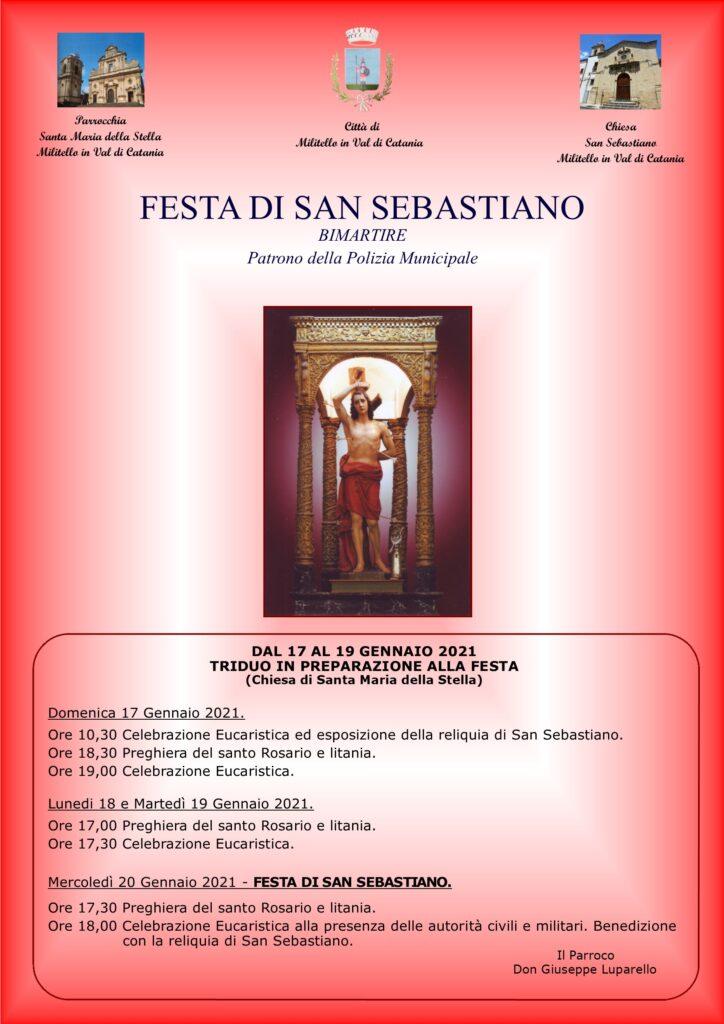 Locandina festa San Sebastiano-2021